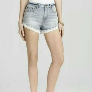 Free People Lacey Denim Cut Off